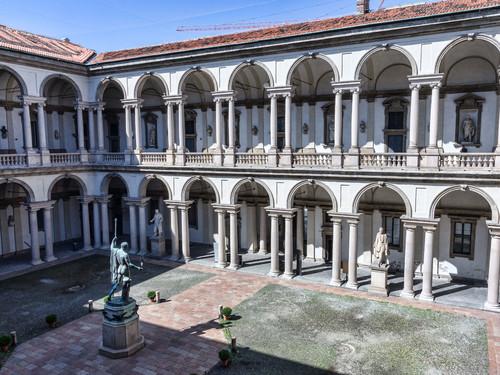Milano pinacoteca di brera pinacoteca di brera di for Accademia arte milano
