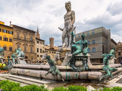 Fontana del Nettuno in Piazza della Signoria, Firenze   Foto: Viacheslav Lopatin