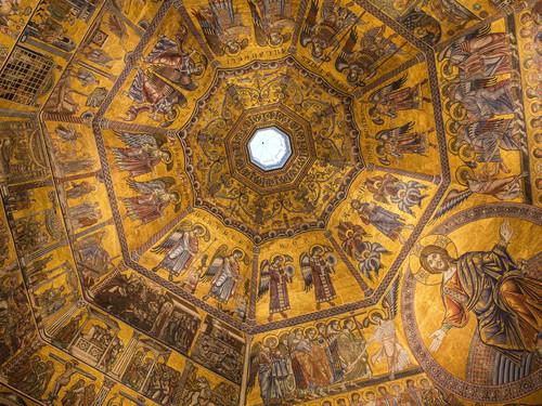 Interno del Battistero di San Giovanni, Firenze | Foto: Alexander Mazurkevich / Shutterstock.com