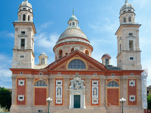 Basilica di Santa Maria Assunta in Carignano, Genova   Foto: Joymsk140
