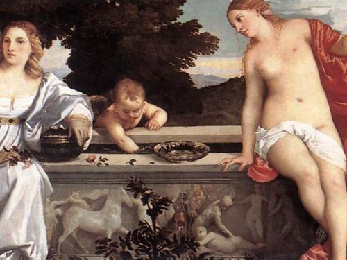 Amor Sacro & Amor Profano - Tiziano - Galleria Borghese