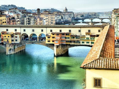 Ponte Vecchio a Firenze | Foto: Roman Sigaev
