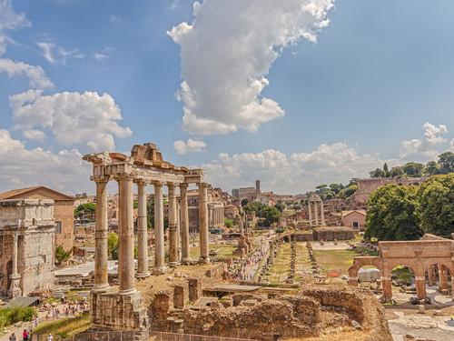 Tempio di Saturno, Fori Imperiali, Roma | Foto: BAHDANOVICH ALENA