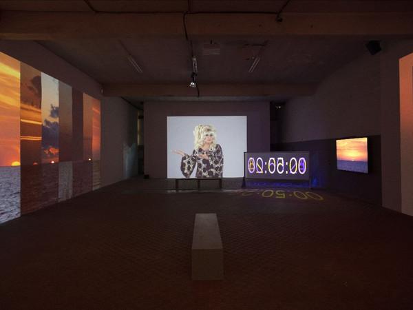 Charles Atlas. Ominous, Glamorous, Momentous, Ridiculous, Fondazione ICA Milano, installation view Filippo Armellin