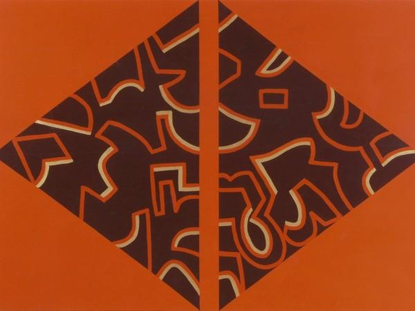 Carla Accardi, Nelle ombre sui muri, 2005, vinilico su tela, 160x220 cm. Galleria Santo Ficara SRL – Firenze