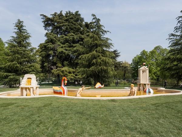 Giorgio de Chirico, Bagni misteriosi, 1973. Triennale di Milano I Ph. Gianluca Di Ioia