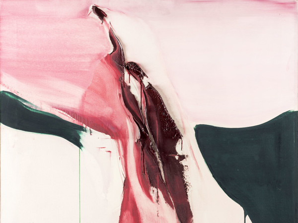 Renata Rampazzi, <em>Composizione</em>, 1978, Olio su tela, 120 x 100 cm<br />