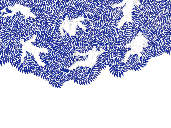 Nikola Filipovic, Theory of youth, 2020, stampa sublimatica su tessuto, 140x190 cm.