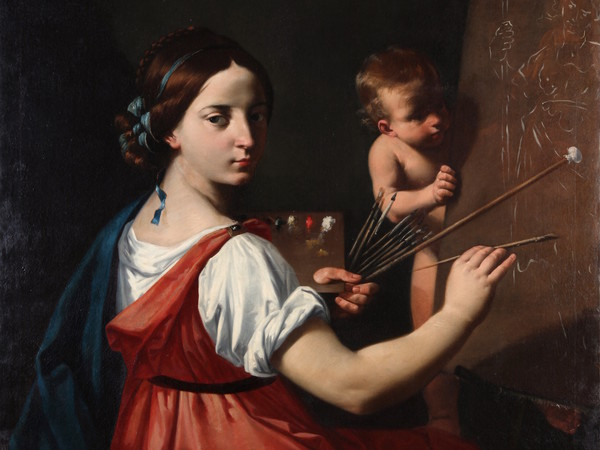 Simone Cantarini detto il Pesarese (1612-1648), <em>Allegoria della Pittura</em>