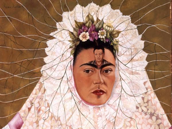 Frida Kahlo, <em>Autoritratto come Tehuana (o Diego nei miei pensieri)</em>, 1943,&nbsp;Olio su masonite, 61 x 76 cm | The Jacques and Natasha Gelman Collection of 20th Century Mexican Art and The Vergel Foundation, Cuernavaca &copy; Banco de M&eacute;xico Diego Rivera Frida Kahlo Museums Trust, M&eacute;xico D.F. by SIAE 2016 <br />