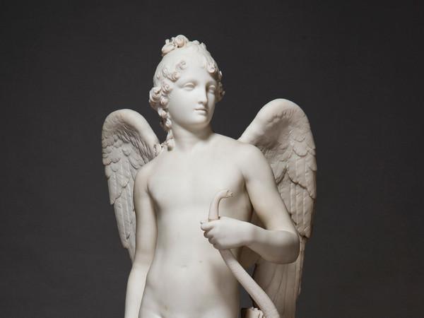 Antonio Canova, Amorino con le ali, 1792 - 1795, Marmo, 54.5 x 142 x 48 cm | Foto: © Alexander Koksharov, San Pietroburgo, Museo Statale Ermitage, 2019