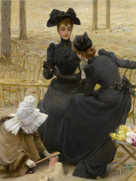 Vittorio Corcos, Le Istitutrici ai campi elisi, 1892