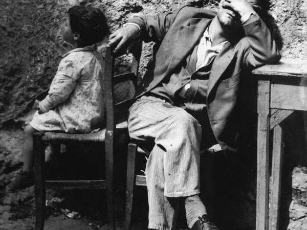 Luciano D'Alessandro, Il disoccupato, Gragnano, 1956