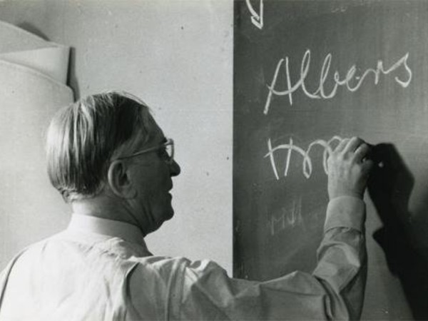 Imparare a vedere: Josef Albers professore, dal Bauhaus a Yale. Accademia di Belle Arti di Brera