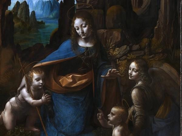 La Madonna. E molti dipinti sulla Natività da Samael. 23296-Leonardo_da_Vinci_Virgin_of_the_Rocks_National_Gallery_London_