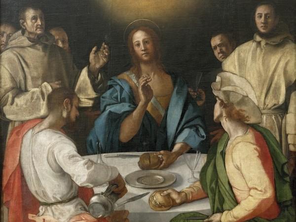 Pontormo, Cena in Emmaus, 1525, Galleria dell'Accademia, Firenze