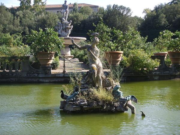 Itálie florence giardino di boboli palazzo pitti toscana