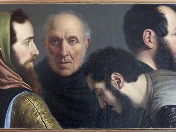 Giuseppe Diotti, Giuramento di Pontida, Casalmaggiore (Cremona), Palazzo Municipale, Sala del Consiglio. Olio su tela, cm 265x375, 1846