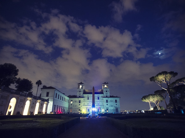 Accademia di Francia a Roma - Villa Medici, Roma, notturna