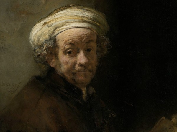 Rembrandt, Autoritratto come San Paolo,<span>1661.Rijksmuseum, Amsterdam</span>