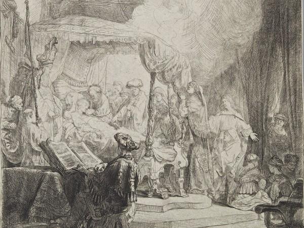 Rembrandt, La morte della Vergine, 1639