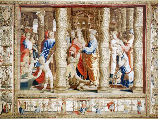 Raffaello, La guarigione dello storpio, Palazzo Ducale di Mantova