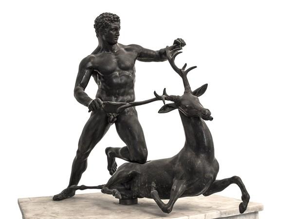 Domenico Pellegrino, <em>Eracle con la cerva</em>
