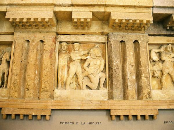 Testa di Gorgone del IV sec. a.C.