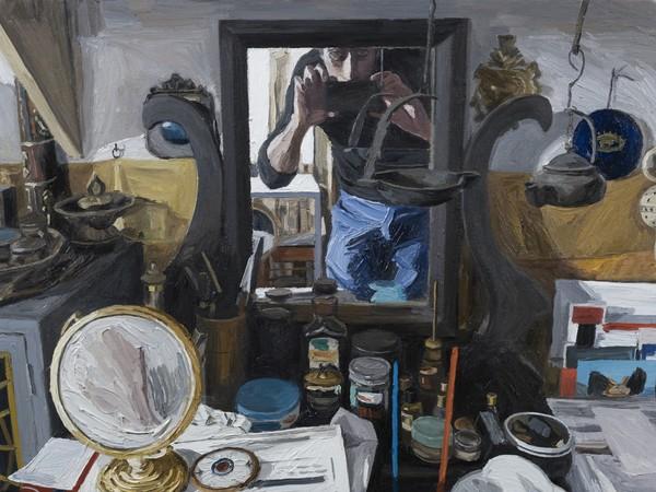 Luca Padroni, I Valori Personali, 2015, olio su tela, 45x60cm