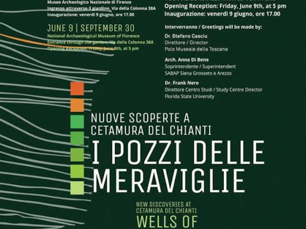 I Pozzi delle Meraviglie. Nuove scoperte a Cetamura del Chianti / Wells of Wonders - New Discoveries from Cetamura del Chianti