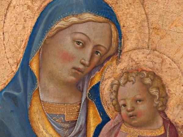 Lorenzo Monaco, Madonna con Bambino. Tavernola di Grizzana Morandi