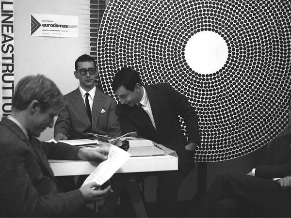 Articolo corriere della sera 1965 (Gruppo Mid). Antonio Barrese, Alfonso Grassi, Gianfranco Laminarca e Alberto Marangoni