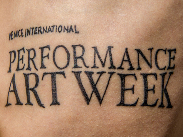 Venice International Performance Art Week, Palazzo Bembo, Venezia