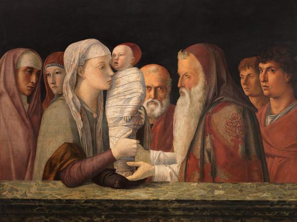 Giovanni Bellini, <em>Presentazione di Gesù al Tempio</em>, 1460, Tempera su tavola, 105 x 80 cm, Fondazione Querini Stampalia, Venezia