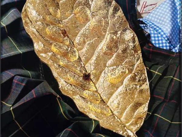 Torbjøorn Rødland, Golden Leaf, 2015-2016. Collezione privata di Fondazione Fiera Milano, Milano