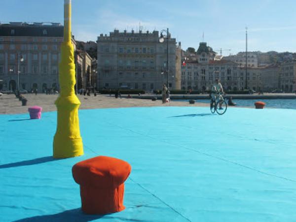 Elisa Vladilo, My favourite place, Trieste, Molo Audace, 2007