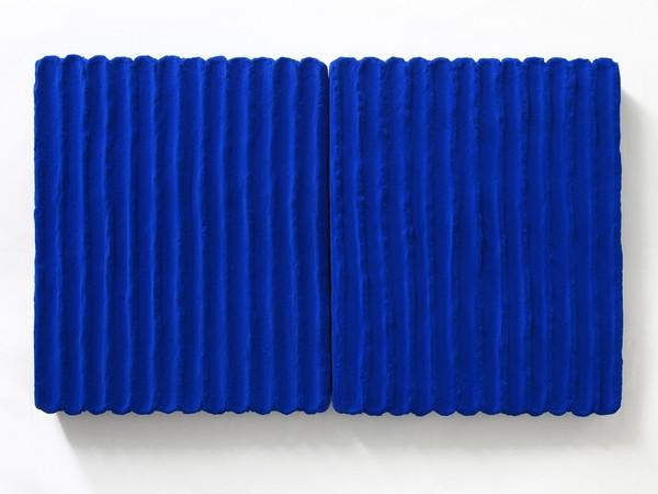 Pino Pinelli, Pittura BL, 2003, 66x40 cm.