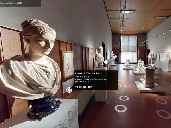 Imperatrici, matrone, liberte - Tour virtuale, Gallerie degli Uffizi, Firenze