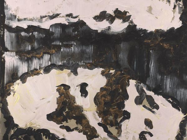"""Vasco Bendini, da """"Il ciclo delle parvenze"""", 1987, tempera acrilica su tela, cm 203 x 223"""