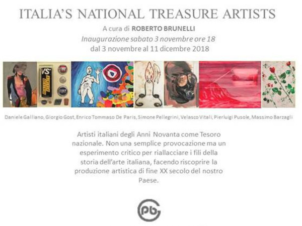 Italia's National Treasure Artists