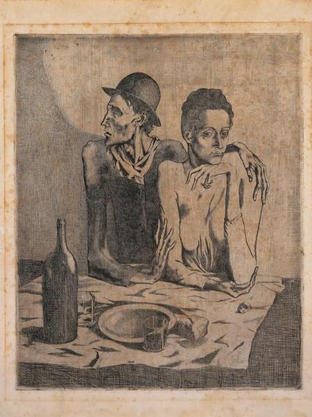 Pablo Picasso, Le repas frugal, 1904