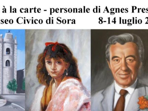 Agnes Preszler. Art à la carte, Muso Civico, Sora (FR)