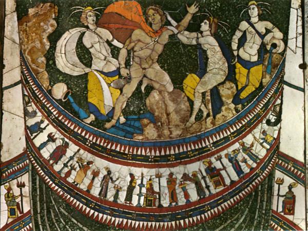 Pannelli Opus Sectile della Basilica Giunio Basso