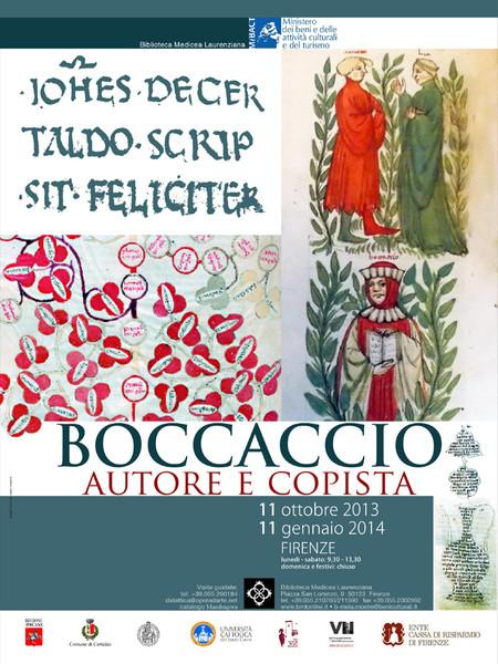 Boccaccio autore e copista, Biblioteca Medicea Laurenziana, Firenze