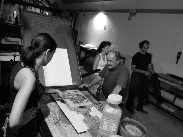 Allievi della Scuola Internazionale per l'Arte Grafica Il Bisonte, Firenze