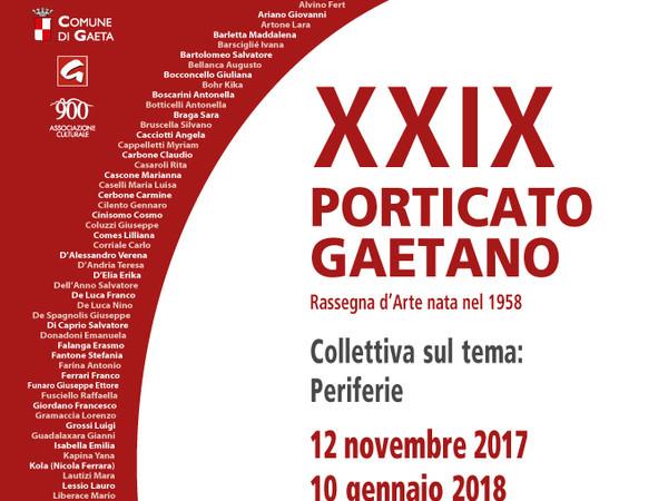 XXIX°Porticato Gaetano, Pinacoteca Comunale d'Arte Contemporanea di Gaeta