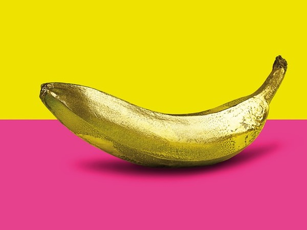 Monica Silva,<em> Banana Golden Pop Art</em>, 2014 | © Monica Silva<br />