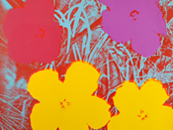 Andy Warhol, Fiori (Flowers), s.d. Collezione privata, Venezia