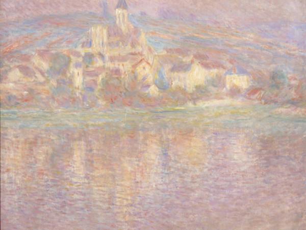 Claude Monet, Vétheuil, soleil couchant / Vétheuil, tramonto