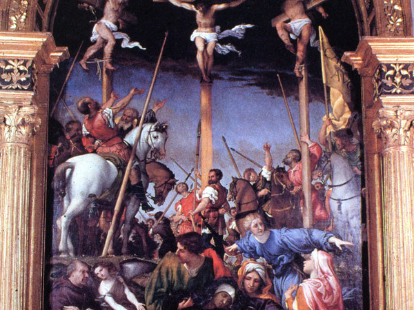 Lorenzo Lotto, La Crocefissione, 1529-1534